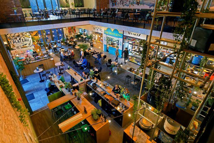 Voor vernieuwende horecaconcepten, zoals De Foodhall aan de Reigerstraat in Breda, blijft altijd ruimte in de gemeente Breda.