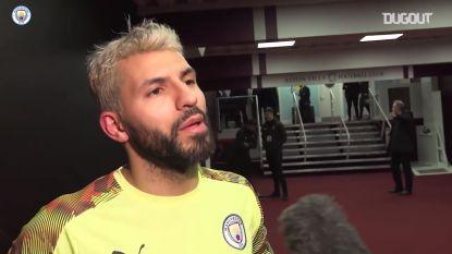 """Sergio Agüero is twee records rijker: """"Had niet verwacht zoveel te scoren in Premier League"""""""