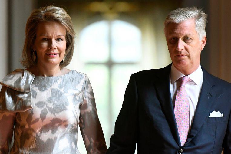 Koning Filip en Koningin Mathilde komen naar Terneuzen.