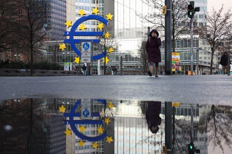 De Europese Centrale Bank zal rekening houden met klimaatdoelstellingen en klimaatrisico's wanneer ze het monetaire beleid uitzetten. Beeld Photo News