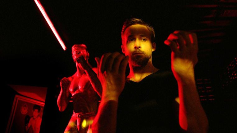 Ryan Gosling in Only God Forgives. Beeld