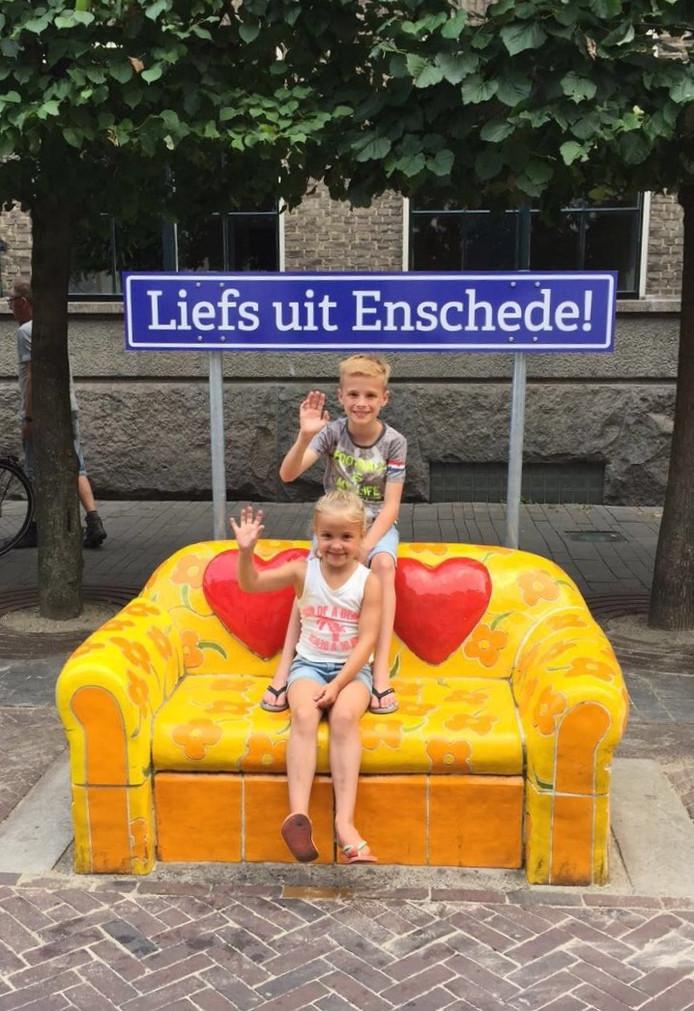 """Een """"Liefs uit Enschede""""-kaartje is vanaf nu zo gemaakt"""