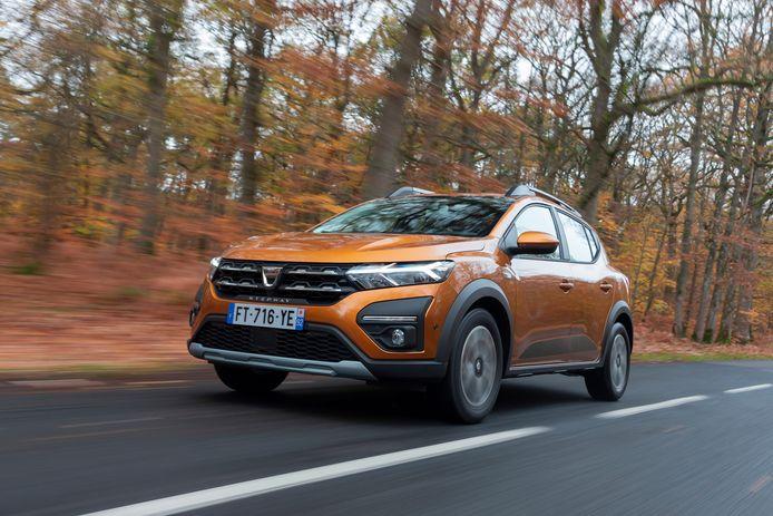 De nieuwe Dacia Sandero in Stepway-uitvoering.