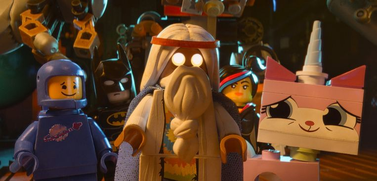 Een beeld uit The Lego Movie. Beeld ap