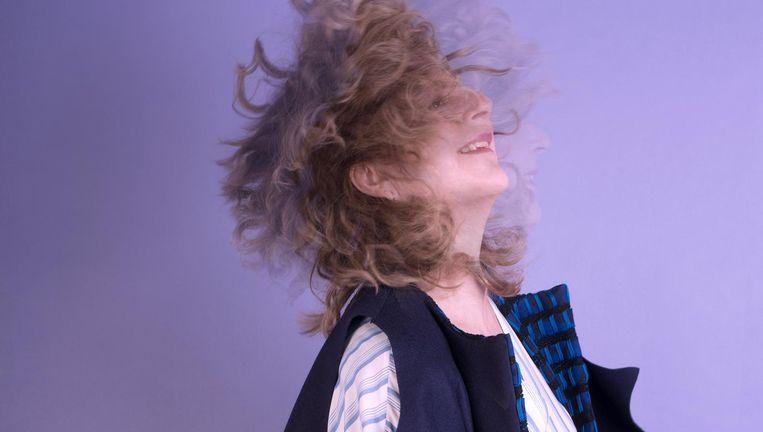 Marja Pruis Beeld foto: Imke Panhuijzen, haar en make-up: Isabeau Ottevanger, mouwloze jas: Jenske Sypkens Smit