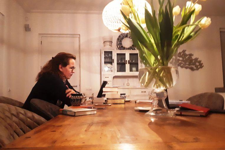 Ilonka Donker, gemeenteraadslid in Harderwijk voor de ChristenUnie. Beeld Emiel Hakkenes