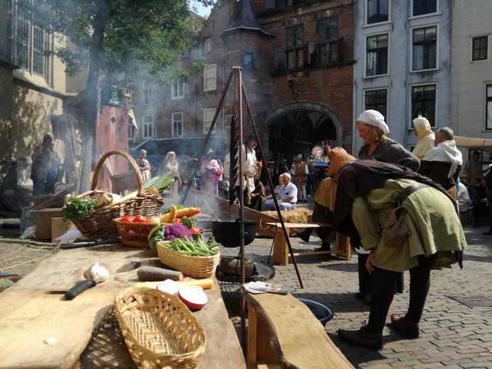 Het Gebroeders van Lymborch-festival in Nijmegen.