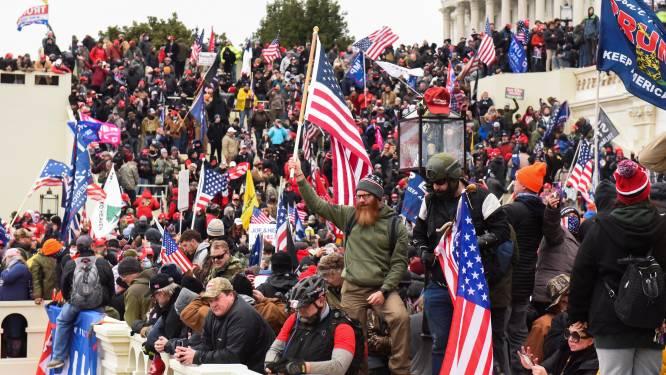 Betogers in Washington uiten steun aan relschoppers Capitool