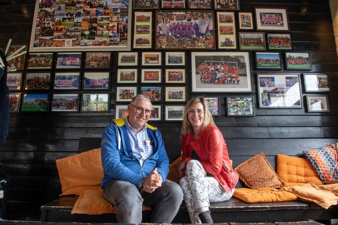 Fred van der Flier en Marjan Schaapman.
