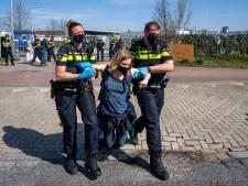 Vier aanhoudingen bij demonstratie van Sluit VION! in Boxtel, vrachtwagens kunnen weer terrein op