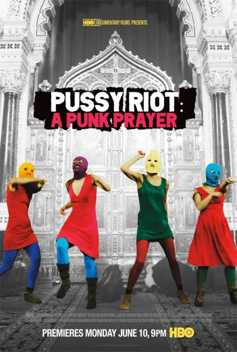 Pussy Riot A Punk Prayer Beeld rv