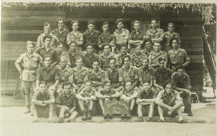 De eenheid waar Evert-Jan deel van uitmaakte in Nederlands-Indië
