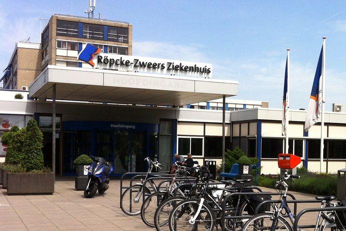 Het Röpcke-Zweers Ziekenhuis in Hardenberg in 2014.