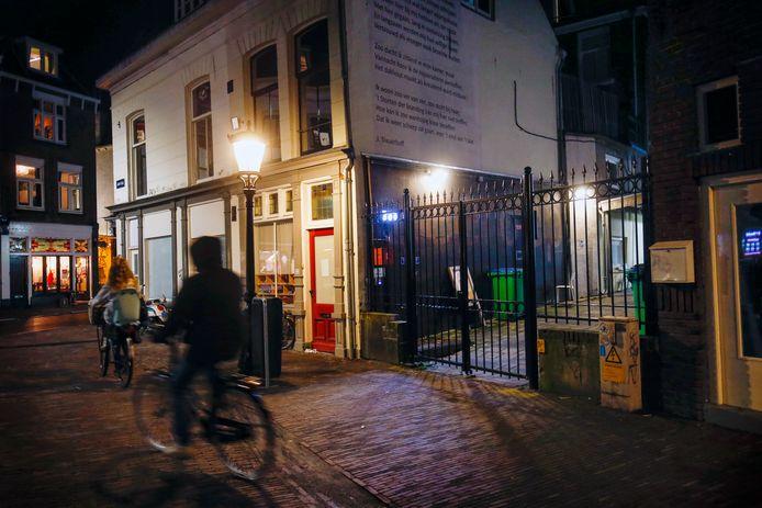 Daklozenopvang aan het Jansveld in Utrecht.