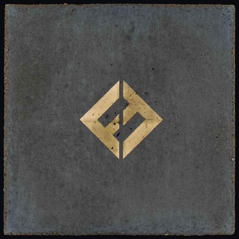 De hoes van het album 'Concrete and Gold'. Beeld © Foo Fighters