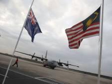 Kisten slachtoffers MH17 in Hilversum