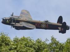 Crashpaal voor RAF Lancaster JA702 hoort kilometers verderop
