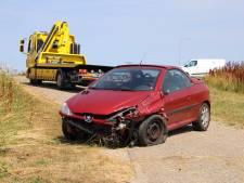 Gewonde bij eenzijdig ongeval in Kats
