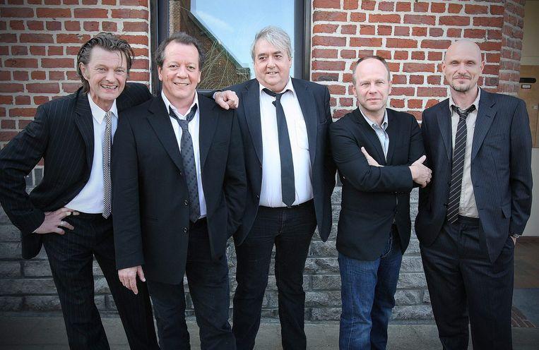 De Kreuners aan het begin van hun tour in 2008.  Beeld BELGA