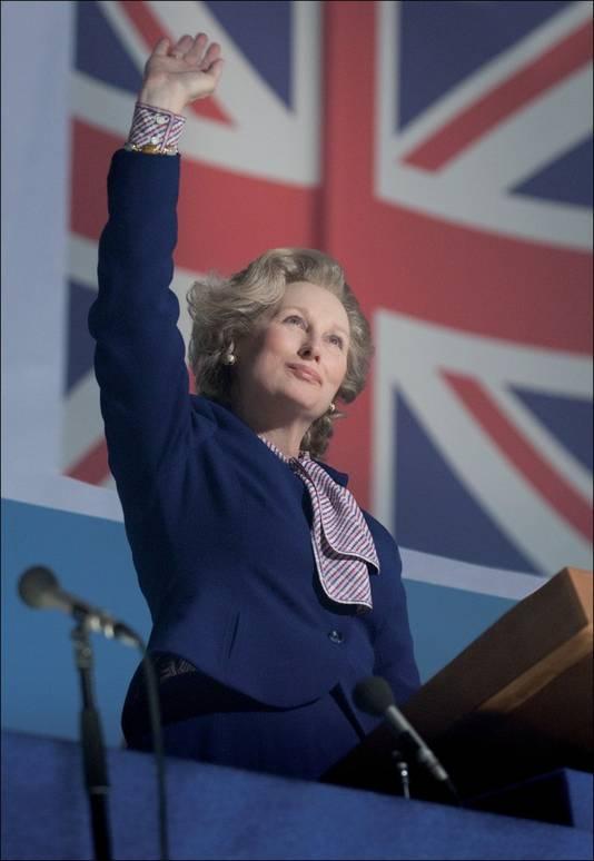 Meryl Streep als Margaret Thatcher, en deels verantwoordelijk voor de heropleving van de handtas.