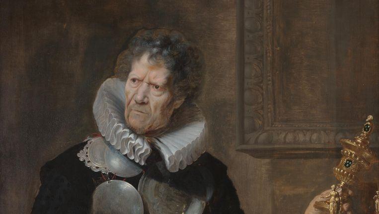 Cornelis de Vos, Portret van Abraham Grapheus, 1620, Koninklijk Museum voor Schone Kunsten Antwerpen. Beeld Foto: Rik Klein Gotink