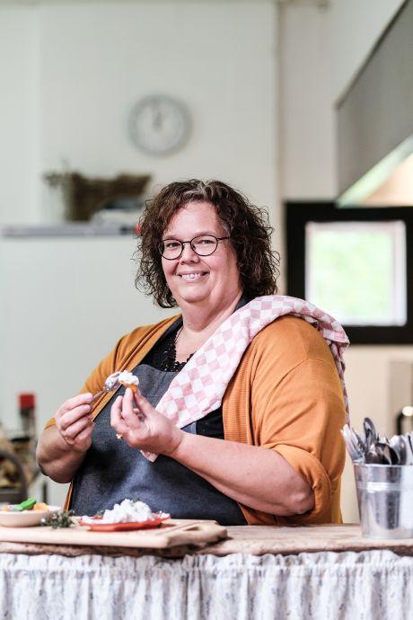 Koken met Marie   Simpel, snel, goedkoop en lekker: geitenkaascrème met abrikoos