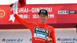Leider Ackermann schrijft derde etappe in Ronde van Guangxi op zijn naam