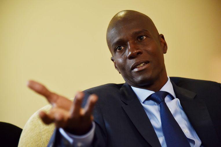 De Haïtiaanse president Jovenel Moise op een archieffoto. Beeld AFP