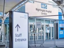 L'hôpital de campagne géant de Londres réactivé face à l'afflux de malades