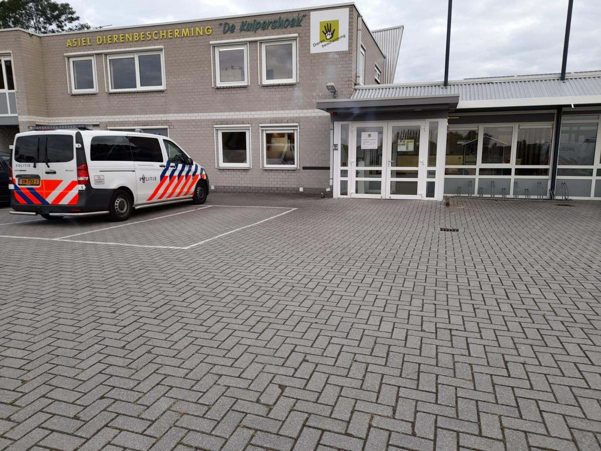 Een politiebusje voor dieren