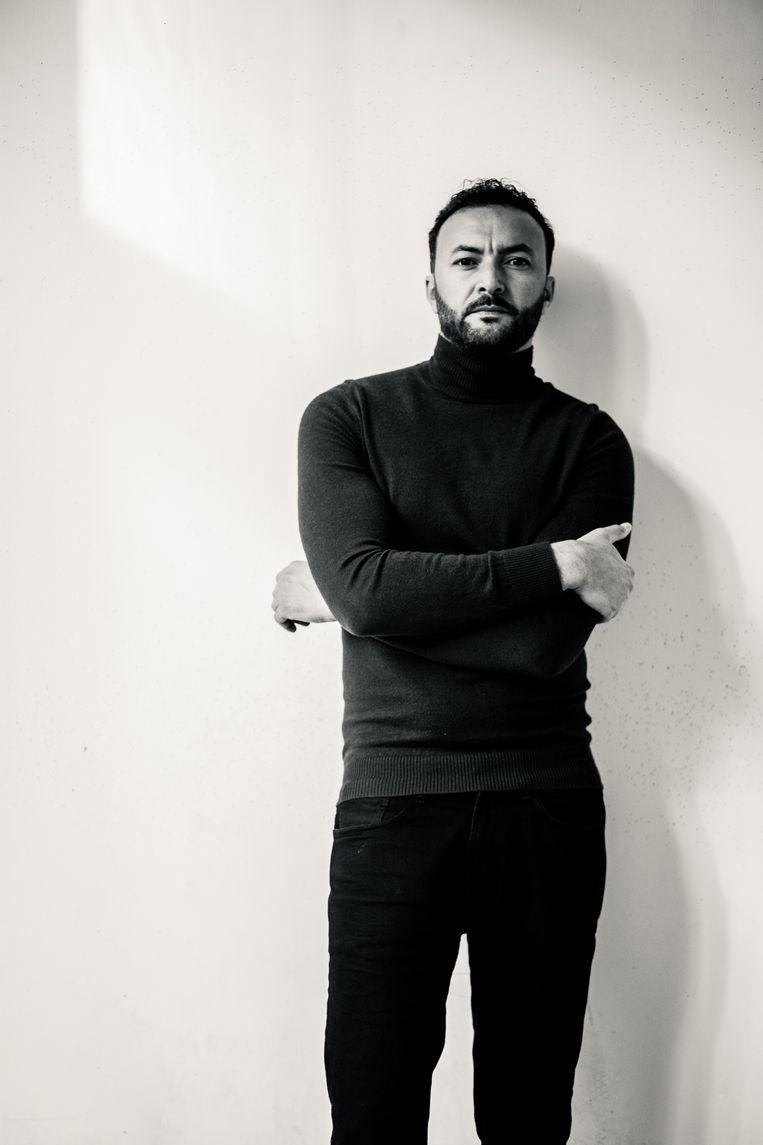 Nasrdin Dchar: 'Het lastige aan liefde is dat je het snel gewoon gaat vinden.' Beeld Janey van Ierland