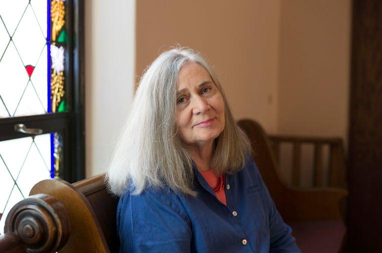 Marilynne Robinson: 'In Iowa heb ik geleerd net boven de horizon te kijken. De prairie is eendroomlandschap, als je maar goed kijkt.' Beeld Alec Soth / Magnum