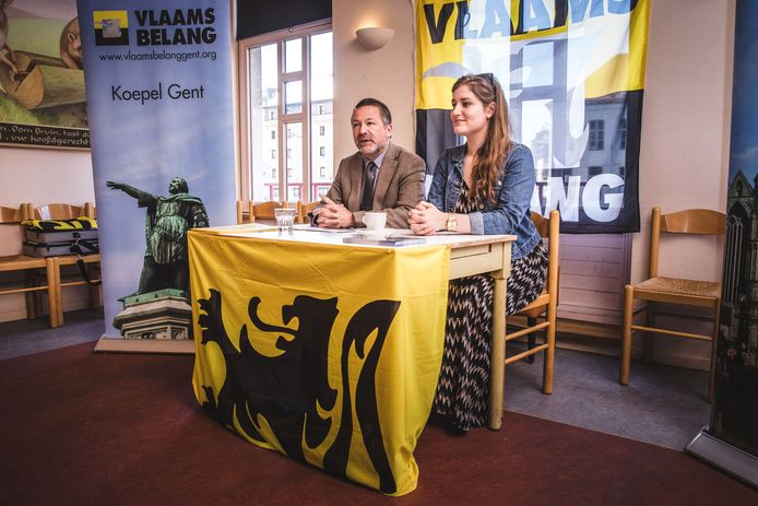 Adeline Blacquaert werd voor de gemeenteraadsverkiezingen gelanceerd door Johan Deckmyn, en kreeg nu al de tweede plaats op de Vlaamse lijst