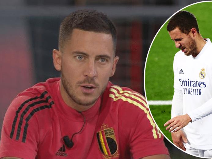 Eden Hazard wordt sinds zijn transfer naar Real Madrid achtervolgd door blessures.