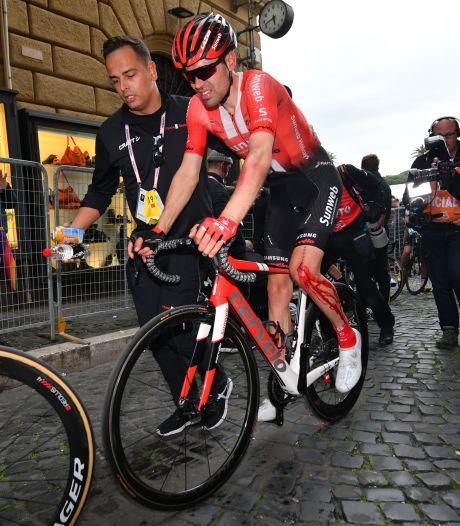 Dumoulin grote verliezer na valpartij in hectische vierde etappe Giro