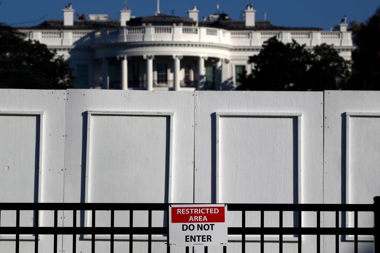 Het Witte Huis in Washington.  Beeld Reuters