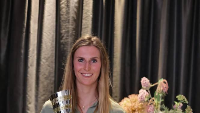 Sarah Cools (Antwerp Volley Team) werd verkozen tot MVP van het jaar