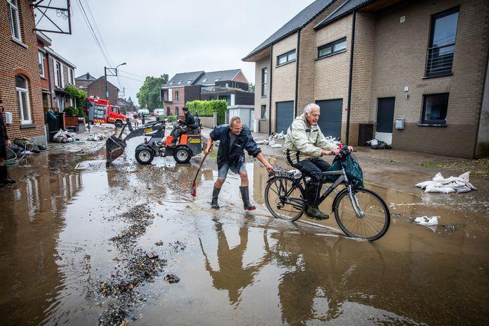 Wateroverlast in Moelingen( voeren)