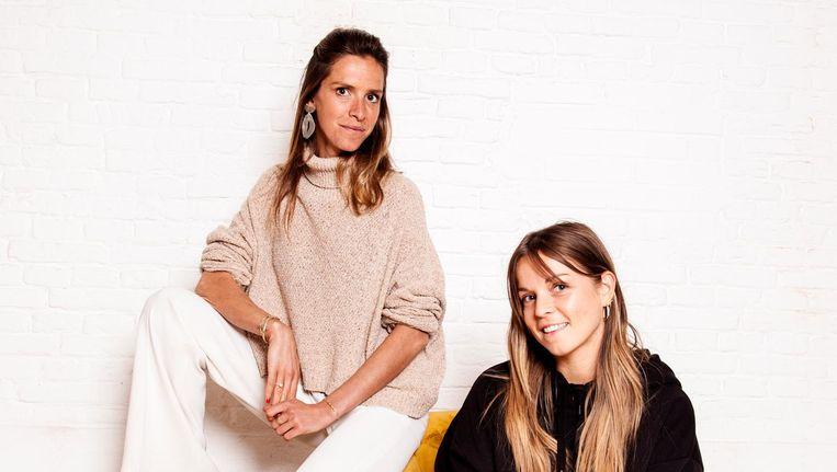 Millennialmarketing: Emilie Tabor en Maddie Raedts koppelen merk aan online rolmodel Beeld Ernst Coppejans