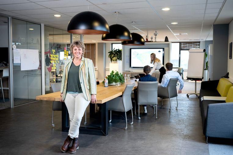 Yvonne Korver van PRO6 Managers: 'Innovatie is niet alleen iets voor hippe start-ups met zitzakken in de gang. Elk bedrijf heeft er wat aan als het personeel meedenkt.' Beeld Bram Petraeus