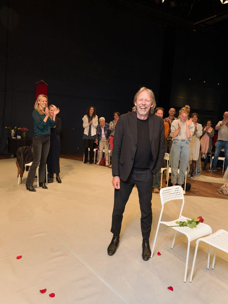Jan Zoet, directeur van het Zuiderstrandtheater inDenHaag. Beeld Ivo van der Bent