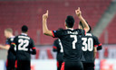 Eran Zahavi overtuigde bij PSV wél in Athene.