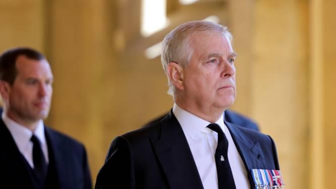"""Advocaat van prins Andrew noemt misbruikzaak """"mogelijk onwettige rechtszaak"""""""