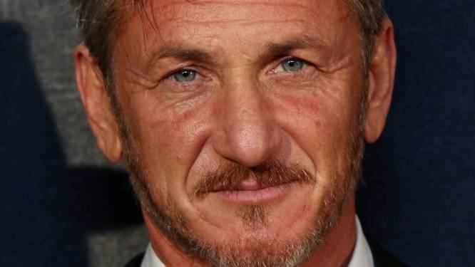 Sean Penn bezoekt concert van ex-vrouw Madonna