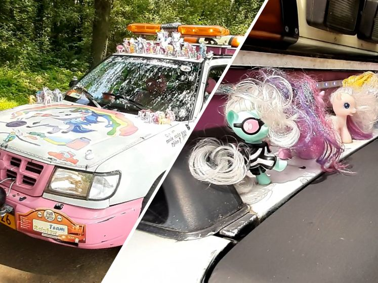 Video van de Dag | Zien! Anneke rijdt rond in de vrolijkste auto van Salland