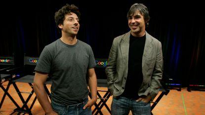 Google-oprichters Sergey Brin en Larry Page zetten stap terug bij Alphabet