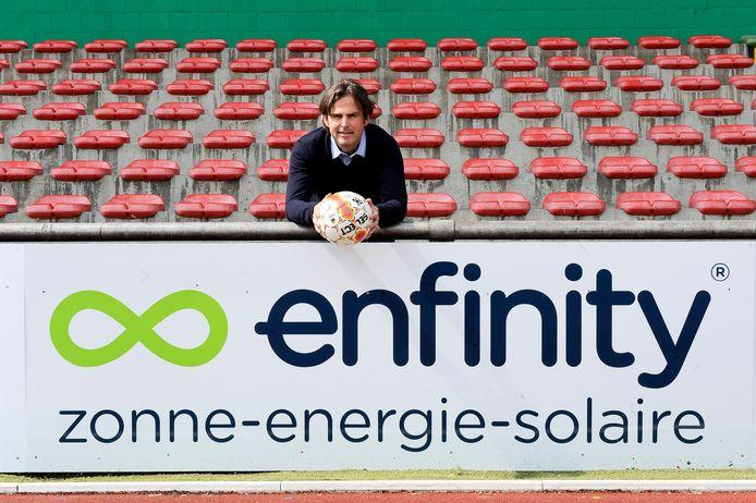 Patrick Decuyper in zijn periode als CEO van Zulte Waregem. Het door hem opgerichte Enfinity was ooit marktleider in de zonnepanelensector.  Het bedrijf is inmiddels failliet. Foto uit 2011.