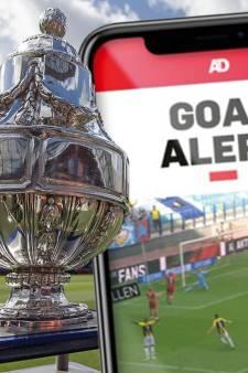Goal Alert bij bekerfinale Ajax-Vitesse