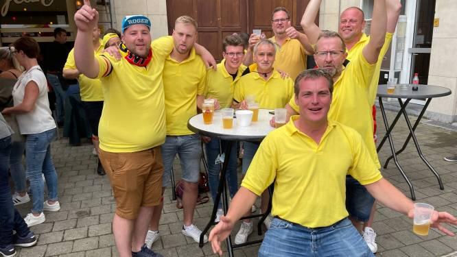 Het was nooit eerder zo druk in Leuven: supporters zijn niet uitgelaten maar uitzinnig van vreugde