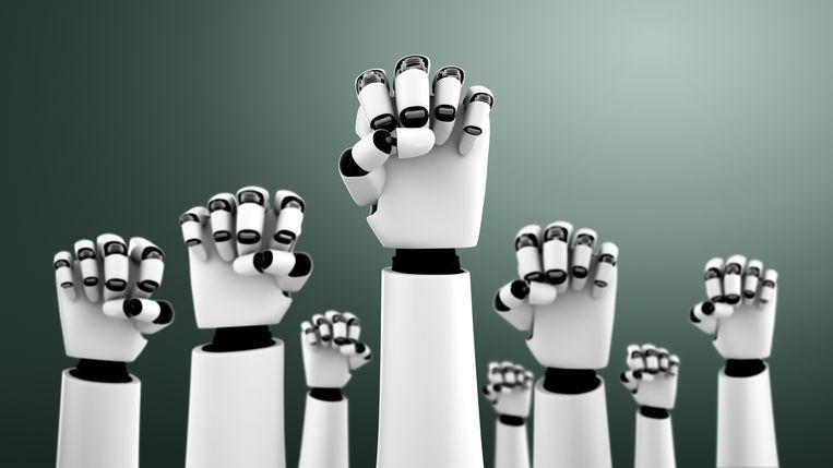 Technologie heeft enorme maatschappelijke impact maar politieke partijen hebben geen samenhangende visie erop.  Beeld Getty Images/iStockphoto